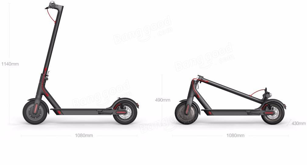 Xiaomi M365 Folding Electric Scooter Europe Version IP54