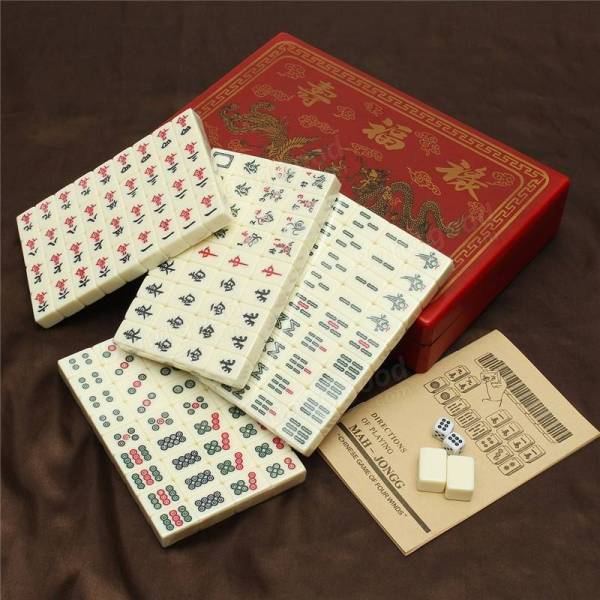 Chinese Mahjong Tile Sets