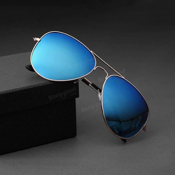 3b67f6838d Men Retro Sunglasses Sports Polarized Fishing Golf Blue