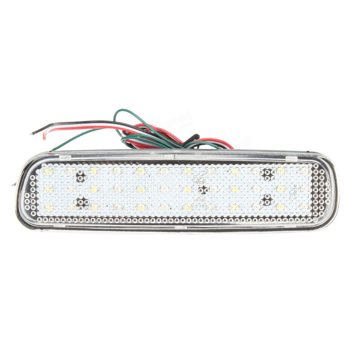 Pair Rear Bumper Reflector Led Brake Tail Turn Signal Light Fog Lamp For Lexus Lx470 Sale