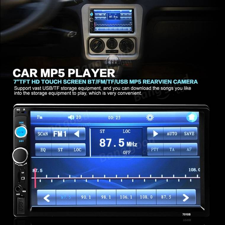 usb host cable wiring diagram hr worksheet middle school 7 inch car stereo radio mp5 mp3 player fm aux full hd bluetooth touch screen rear view ...