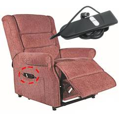 How To Lift A Chair With One Hand Storing Banquet Covers Okin 2 Button Up Down Dc Or Power Recliner