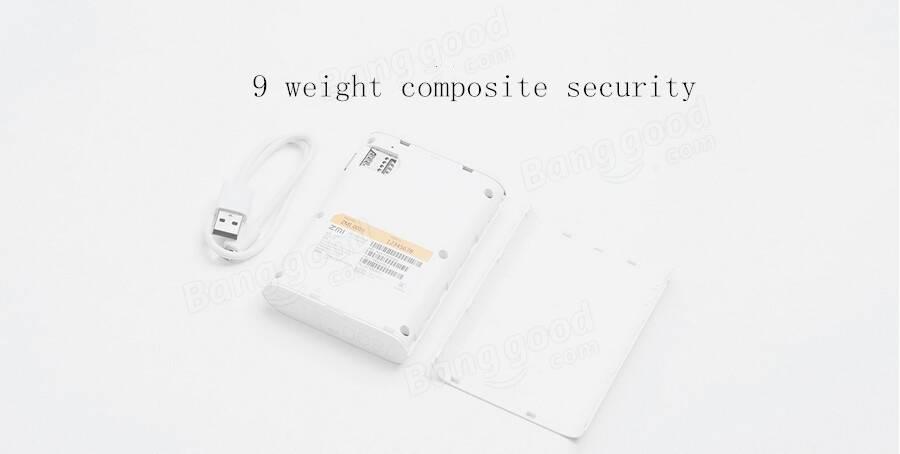 Original Xiaomi ZMI 3.6V/7800mAh MF815 Querysystem 4G