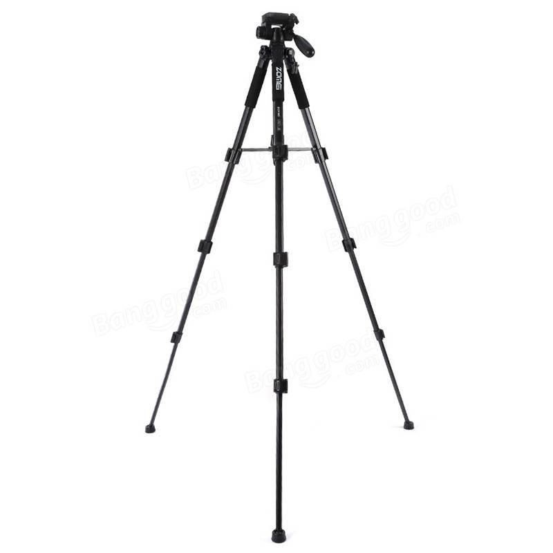 Zomei Q111 Soporte de cámara profesional de trípode de