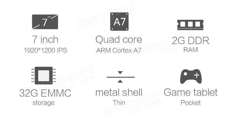 Original Box VOYO X7 MT6582 Quad-core 32G 7 Inch Dual SIM