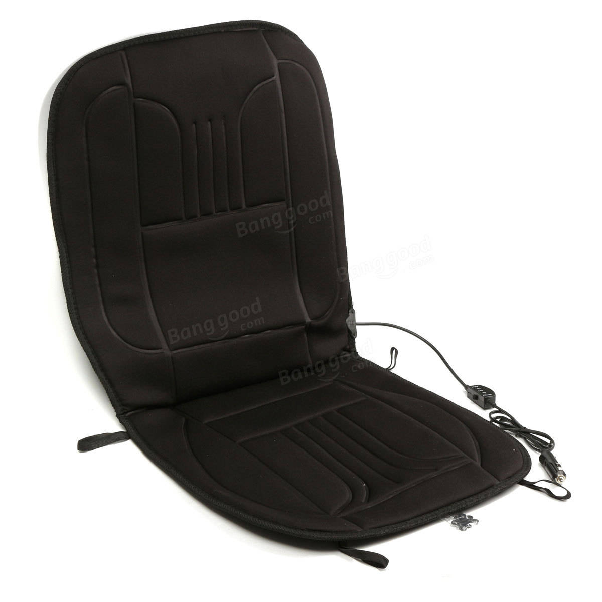 Massage Chair Cover Heated Back Massage Chair Cushion Massager Car Seat Home