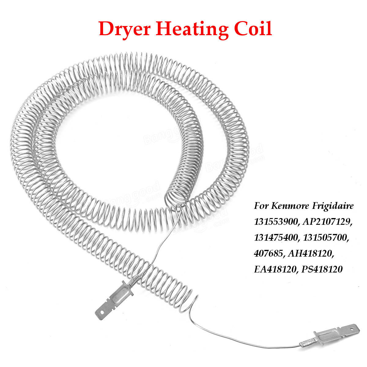 Restring Dryer Heating Element Heater Coil For Kenmore