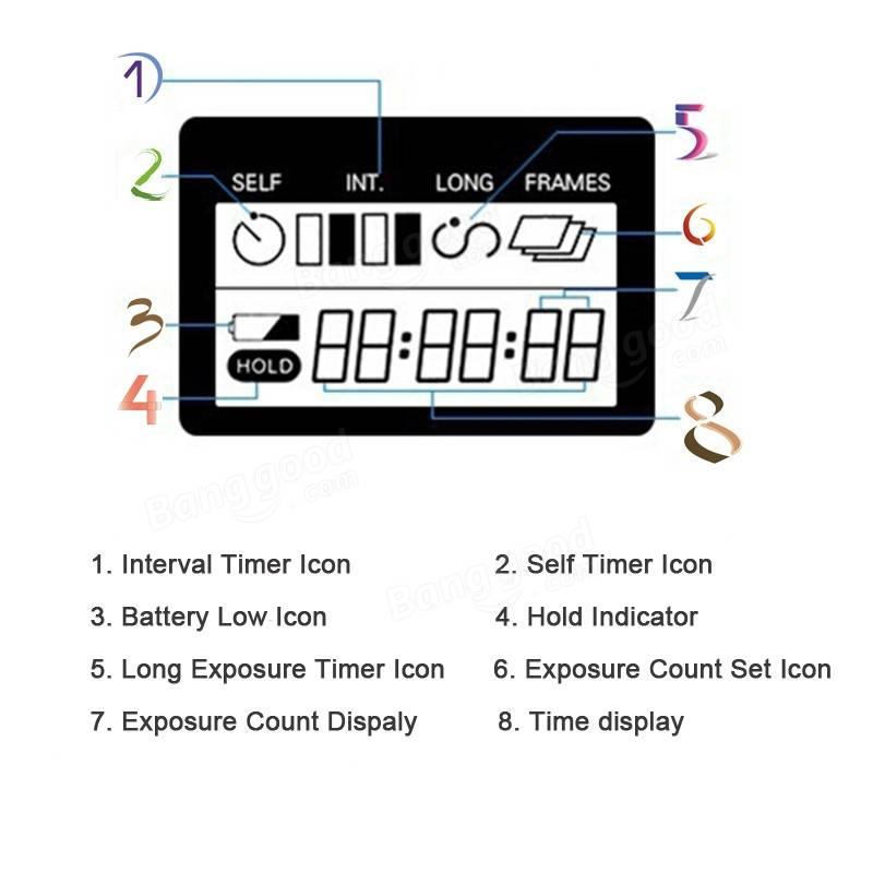 SHOOT TC-80N3 Shutter Release Long Exposure Self Timer