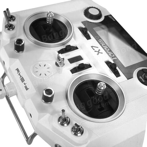 FrSky ACCST Taranis Q X7 2.4GHz 16CH Transmitter White Black