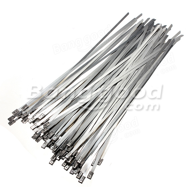 4.6x300mm Stainless Steel PVC Coated Self Locking Cable