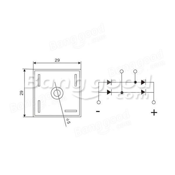 Kbpc5010 Bridge Rectifier Wiring Diagram • Wiring And