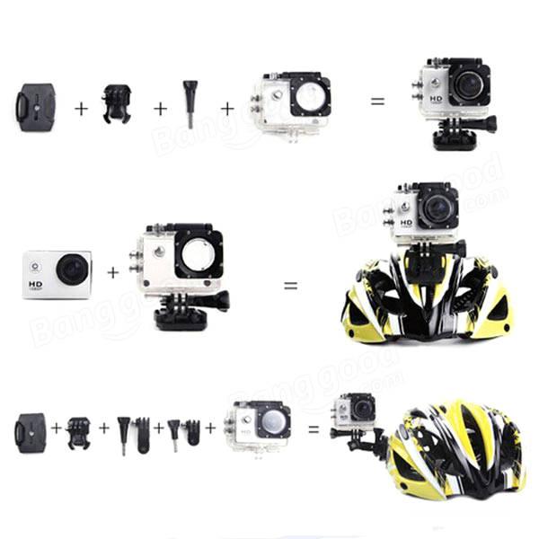 SJ4000 Waterproof HD 1.5 Inch Car DVR Camera Sport DV