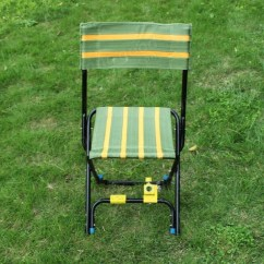 Portable Cloth High Chair Canada Sling Motion Patio Chairs Multifunction Fishing Double Folding Stool - Us$26.99