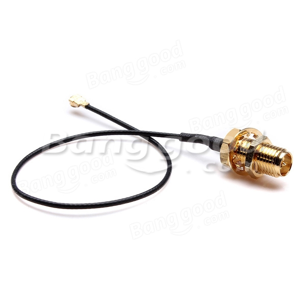 15cm U.FL/IPX to RP-SMA Female Antenna Pigtail Jumper