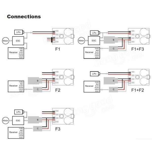 Matek Signal Loss Alarm Loss Aircraft Finder with Lipo