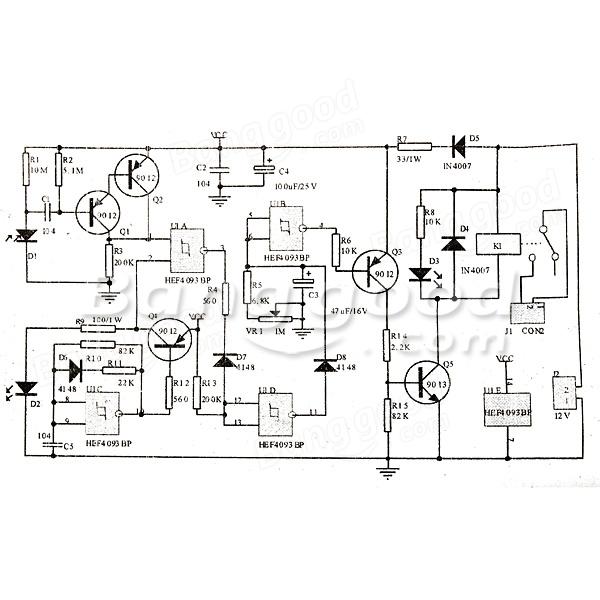 DIY IR Sensor Circuit Kit Induction Heater Circuit Kit