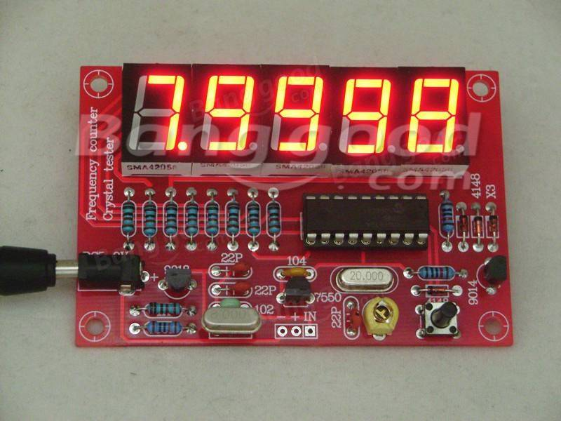 Original Hiland 1hz 50mhz Five Led Display Frequency
