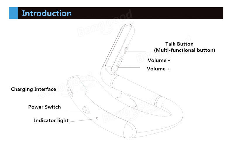 REMAX Brand T5 Self Timer Wireless Bluetooth 4.1 Earphone