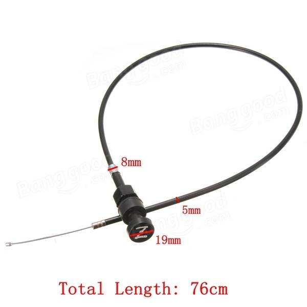 Push Pull Choke Throttle Cable For Yamaha PW50 PW80 Y