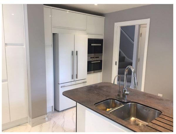 kitchen islands uk moveable island 在英国装修经验分享一 如何拆承重墙 英国邦利 装修后的厨房效果图