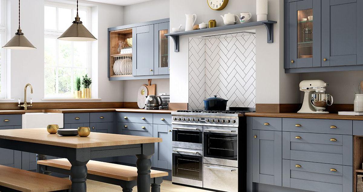 www.kitchen cabinets kitchen table and two chairs 在英国装修经验分享二 如何购买橱柜 英国邦利