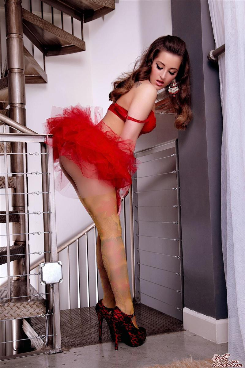 Dani Daniels strips off her cute red puffy skirt Brand Danger  18 Pictures