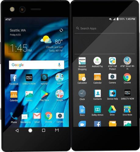 ZTE - Axon M 64GB - Carbon Black (AT & T)