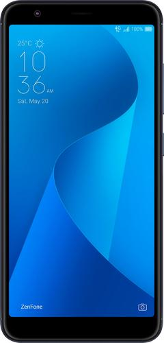 ASUS - ZenFone Max Plus M1 4G LTE with 32GB Memory Cell Phone (Unlocked) - Deepsea Black