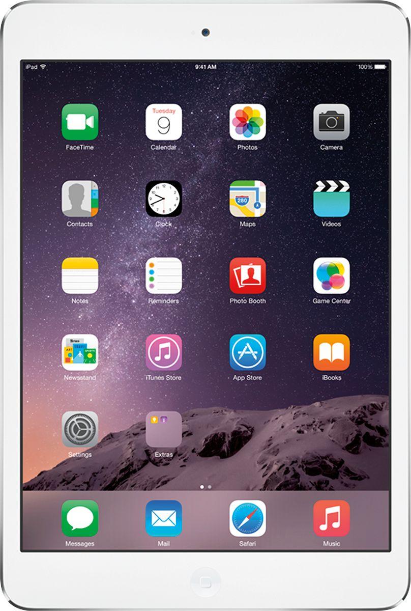 Apple® - iPad® mini with Wi-Fi - 16GB - White/Silver