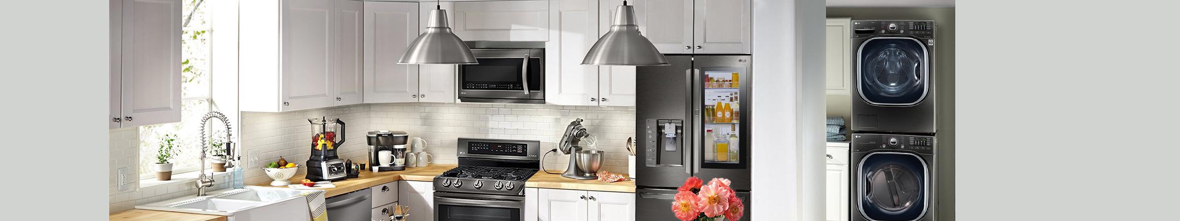 lg kitchen appliances home depot backsplash tiles for appliance options best buy the of