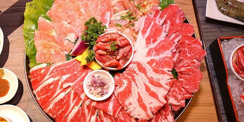 台中燒肉餐廳│巨無霸超大肉盤就在市太郎燒肉市場約訪