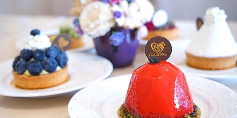 台中法義甜點│金心盈福Cuore D'oro法義甜點約訪