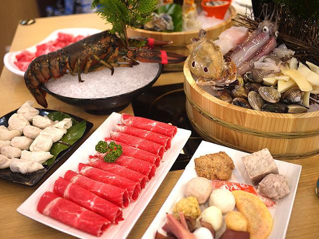 台北海鮮火鍋吃到飽│味之町涮涮鍋吉林店。頂級帝王蟹和海鮮吃到飽約訪