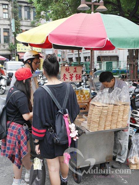 【吳大妮專欄】迪化街、永樂市場外的古早味麥芽糖餅乾~好好吃唷
