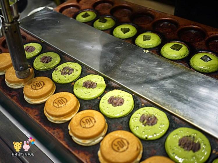 天母大葉高島屋餐廳│二訪108抹茶茶廊終於有不苦的108燒 紅豆餅吧