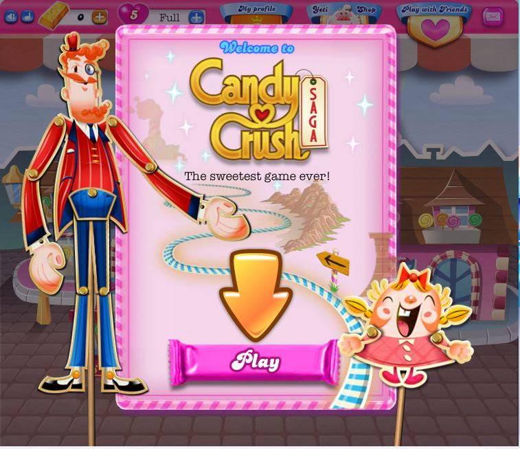 【Candy Crush Saga】FB遊戲初階攻略說明