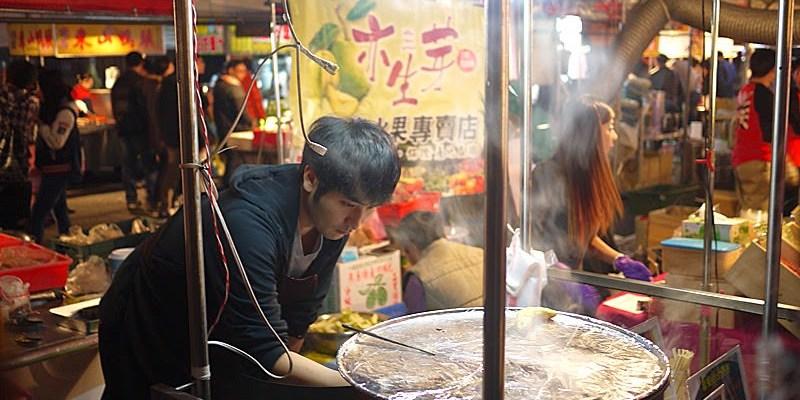 【台中環中觀光夜市】崔基虎韓國雞蛋糕現點現做需要等待