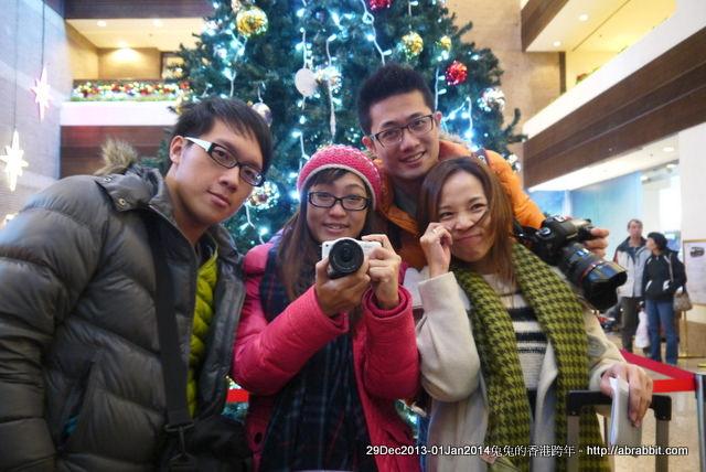 【兔兔專欄】201314香港跨年。香港住宿-麗豪酒店