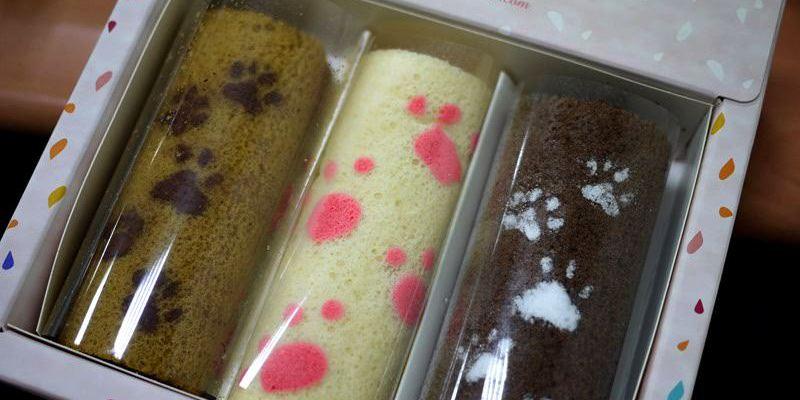 【悠美菓子】療癒系貓腳印蛋糕捲