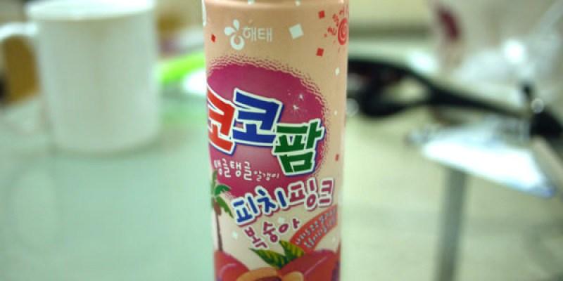 【超人氣韓國飲品】韓國水蜜桃果汁-加了蒟蒻的好滋味