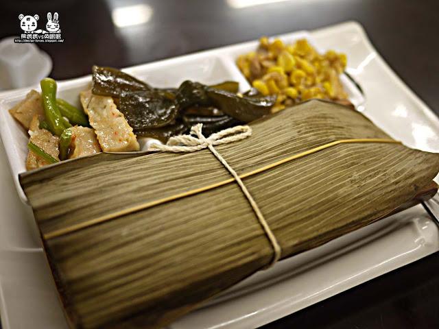 【台中美食】佳就條豬血湯專賣店-古色古香竹筒飯