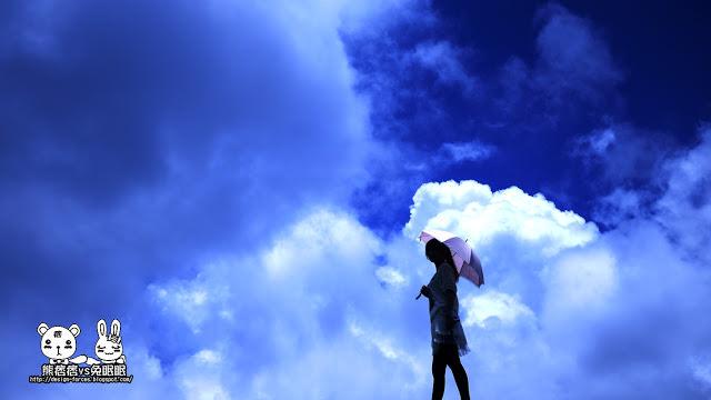 【南投清境農場】我在雲中旅遊。漫步雲端。飛躍