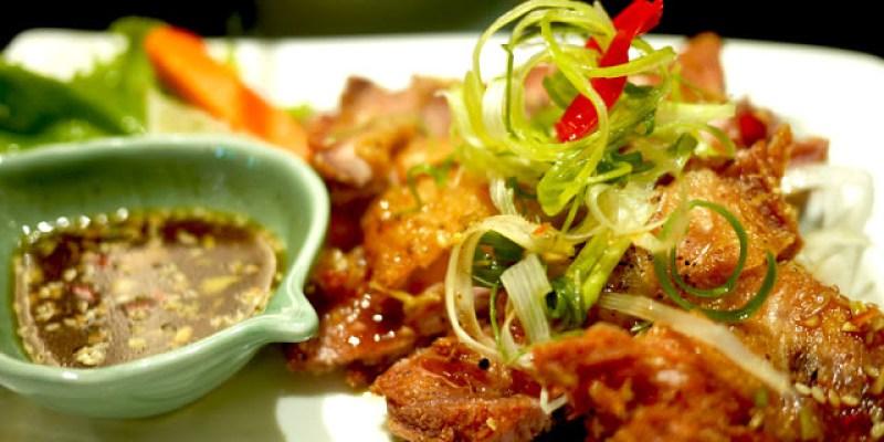 【高雄】銀湯匙泰式火鍋-月亮蝦餅與椒麻雞