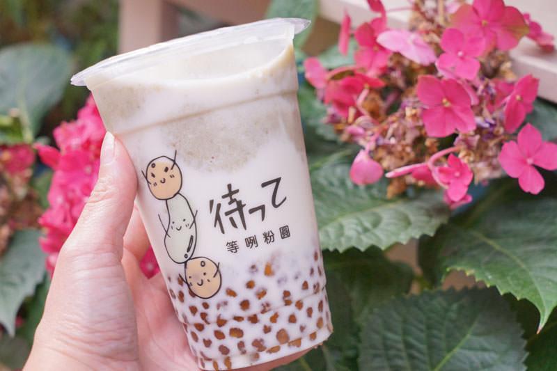 喝不到台南排隊飲料雙生綠豆沙│只好來巷子喝等咧粉圓綠豆沙