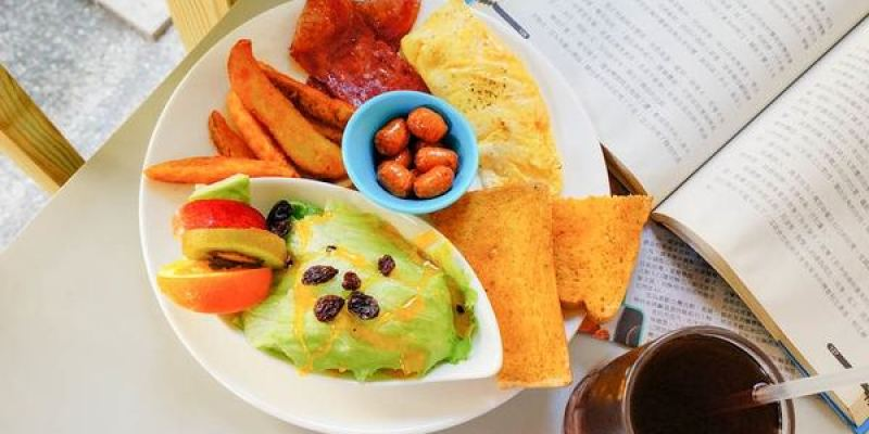 高雄美食 早午餐-三民區/呦活力早午餐輕食坊-超值拼盤89元~一盤中六種餐,滿足每種都想吃一點的慾望