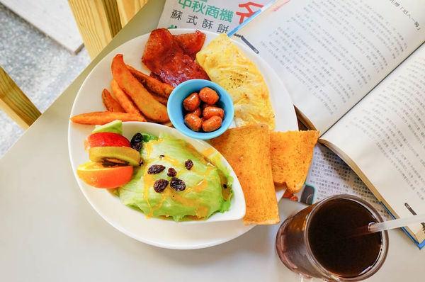高雄三民早午餐 呦活力早午餐輕食坊-超值拼盤89元~一盤中六種餐,滿足每種都想吃一點的慾望