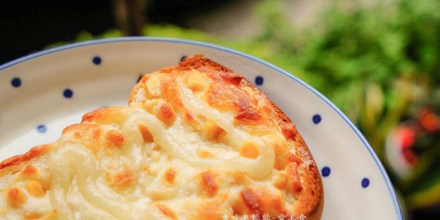 高雄苓雅早午餐 七飽飽早午餐手作坊-鐵板香煎吐司,香酥有味