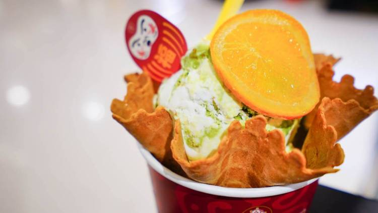 Cold Stone Creamery 酷聖石冰淇淋-季節限定經典-清新Good抹檸