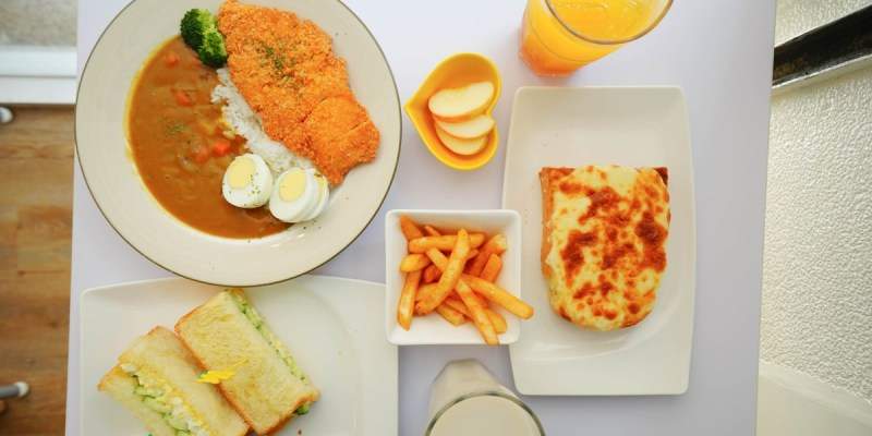 高雄苓雅早午餐 簡單吃Slow & Light-超多種類餐點選的真滿足
