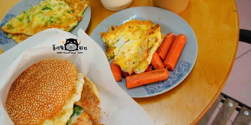 高雄三民區早餐 阿春媽媽早餐店-焦脆口感蛋香足很誘惑的古早味麵糊蛋餅